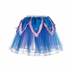 Blauw/roze tutu jurkje goedkoop voor meiden