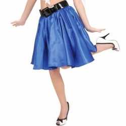 Blauwe fifties jurkje goedkoop petticoat goedkoop voor dames