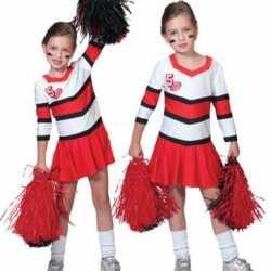 Cheerleader jurkje goedkoop voor meisjes