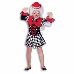 Clowns jurkje goedkoop voor meisjes