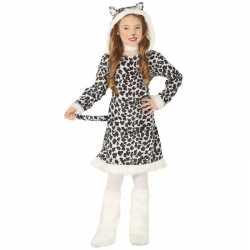 Dierenpak luipaard verkleedjurkje goedkoop voor meisjes