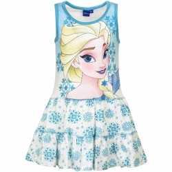 Frozen jurkje blauw goedkoop voor meisjes