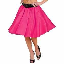 Fuchsia fifties jurkje goedkoop petticoat goedkoop voor dames