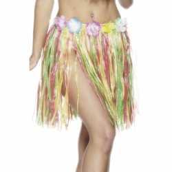 Gekleurde Hawaii jurkje 45 cm