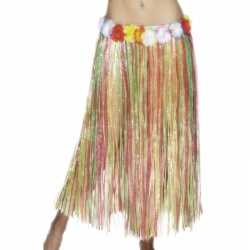 Gekleurde hawaii jurkje 80 cm
