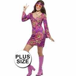 Grote maten hippie jurkje goedkoop voor dames