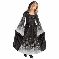 Halloween Gothic zombie jurkje goedkoop voor kinderen