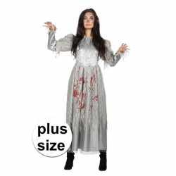 Halloween grote maat zombie halloween bruidsjurkje goedkoop voor dame