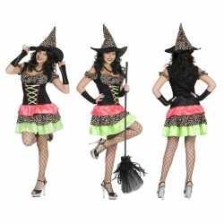 Halloween heksen jurkje goedkoop voor dames