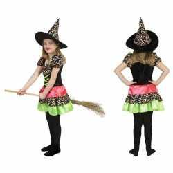 Halloween heksen jurkje goedkoop voor meisjes