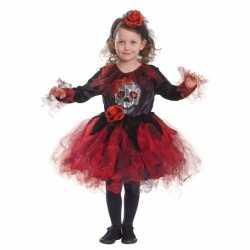 Halloween jurkje goedkoop doodshoofd