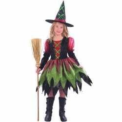 Halloween Luxe heksenjurkje goedkoop voor meisjes