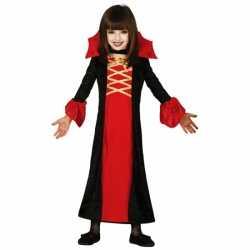 Halloween Vampieren jurkje goedkoop voor meisjes