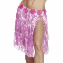 Hawaii hula dames jurkje lichtroze