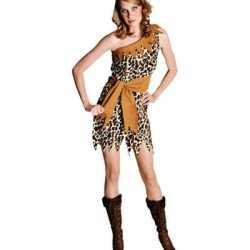 Luipaardprint jurkje goedkoop voor dames