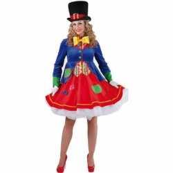 Luxe clowns jurkje Lucky goedkoop voor dames