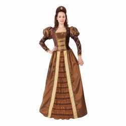 Middeleeuwse prinses/jonkvrouw verkleedjurkje goedkoop voor dames
