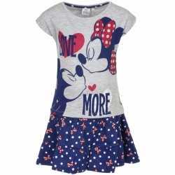 Minnie mouse blauw jurkje goedkoop shirt meisjes