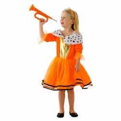 Oranje Koninginnen jurkje goedkoop voor meisjes