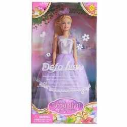 Pop lucy prinses goedkoop lila/paarse jurk