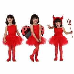 Rood tutu jurkje goedkoop voor meiden