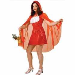 Roodkapje jurkje goedkoop cape