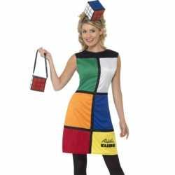 Rubiks kubus jurkje goedkoop hoed en tas