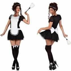 Sexy dienstmeisje verkleed kostuum/jurkje goedkoop voor dames
