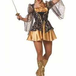 Sexy musketiers jurkje goedkoop voor dames