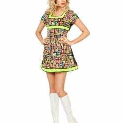 Sexy neon jurkje goedkoop voor dames