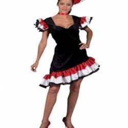 Spaans dames jurkje goedkoop franjes