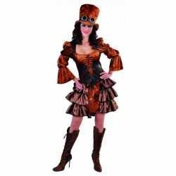Steampunk jurkje goedkoop voor dames