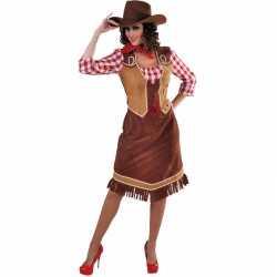Toppers cowgirl jurkje goedkoop geruite blouse goedkoop voor dames