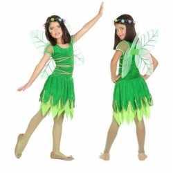 Toverfee/elfje fay verkleed kostuum/jurkje goedkoop voor meisjes