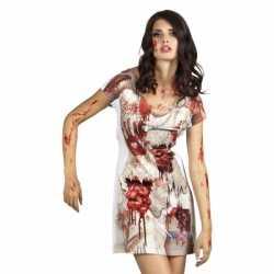 Zombie bruid jurkje goedkoop voor dames
