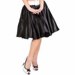 Zwarte fifties jurkje goedkoop petticoat goedkoop voor dames